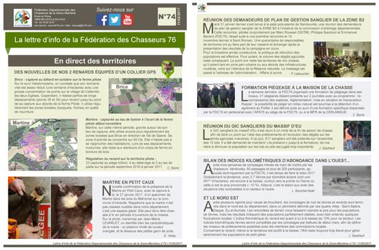 74 newsletter