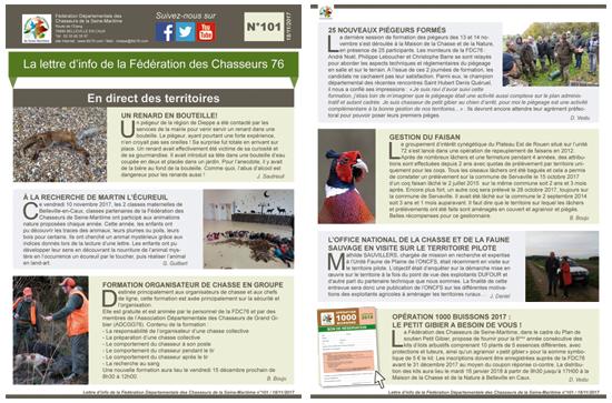 101 newsletter