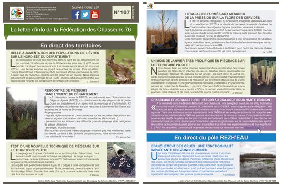 107 newsletter