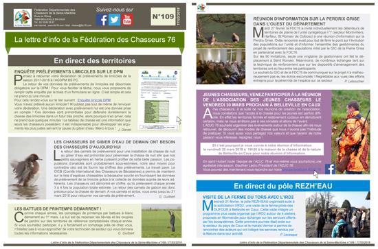 109 newsletter